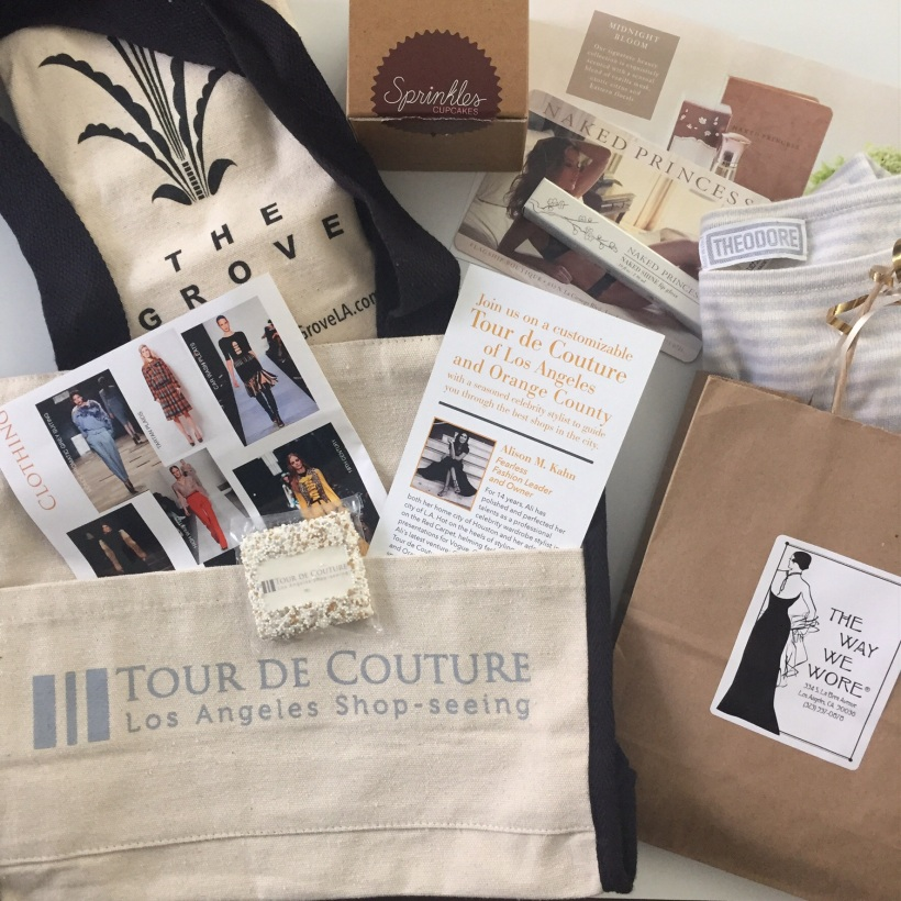 The perfect swag bag to remember it by